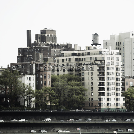 usa new york view of broklyn