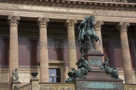 germany berlin old national gallery