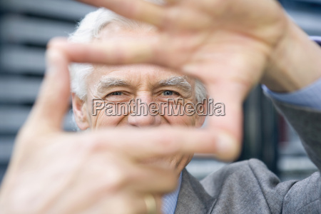 germany baden wuerttemberg stuttgart senior man