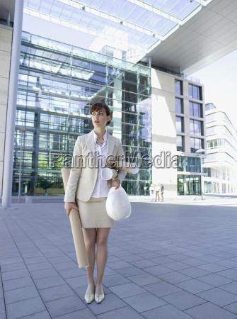 germany baden wuerttemberg stuttgart businesswoman with