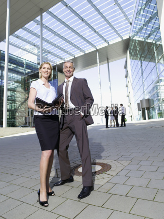 germany baden wuerttemberg stuttgart businesspeople in