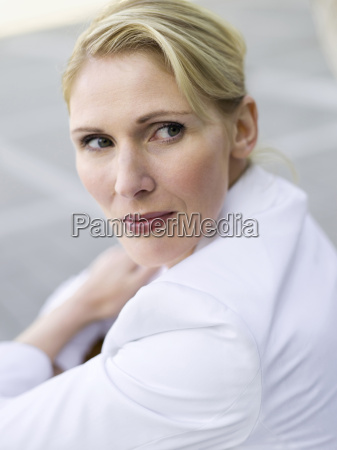 germany baden wuerttemberg stuttgart businesswoman portrait