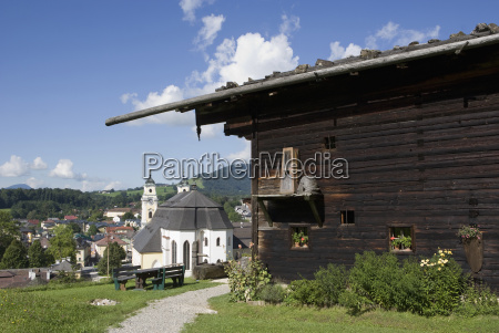 austria mondsee city view of house