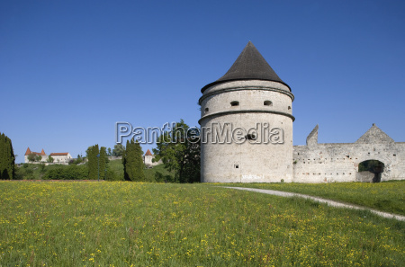 germany upper bavaria burghausen tower and
