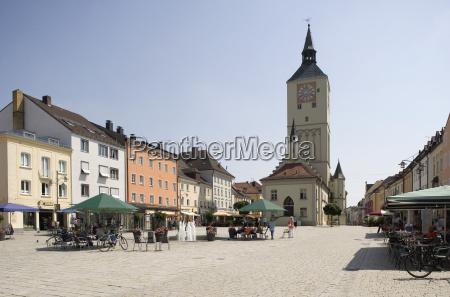 germany bavaria deggendorf old town town