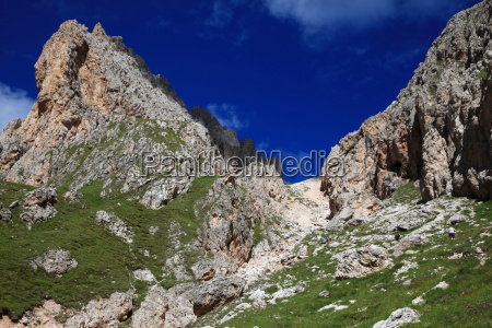 sass rigais scharte at seceda dolomites