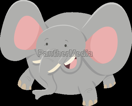elephant cartoon animal character