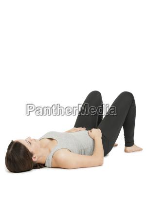 yoga woman grayanada balasanavariation