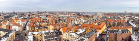 copenhagen aerial blick panorama