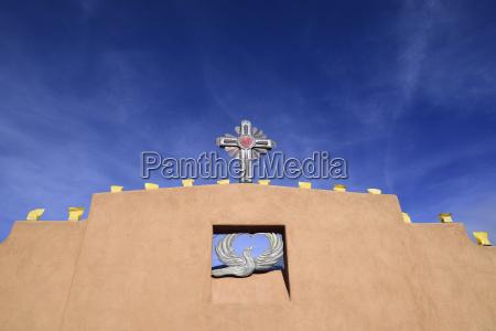 usa new mexico chimayo religious symbols