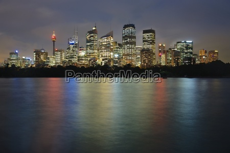 sydney night view