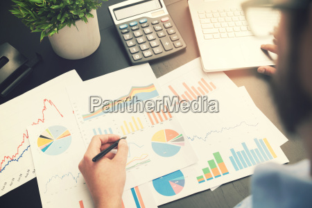 business analysis man working with