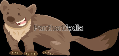 marten cartoon animal character