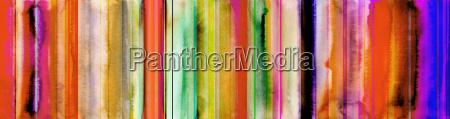 aquarell abstrakt streifen banner