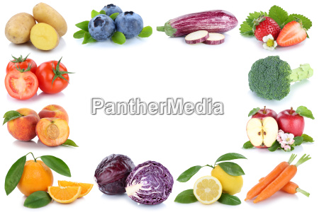 fruits and vegetables fruits frame copy
