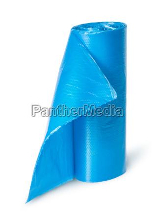 azul liberado aislado perpendicular residuos de