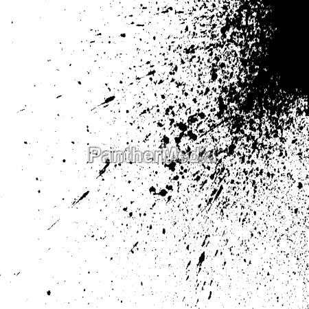 schwarze explosion farbe splatter kleine tropfen