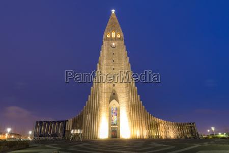 kathedrale von hallgrimskirkja
