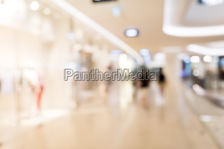 abstract background of shopping mall shallow