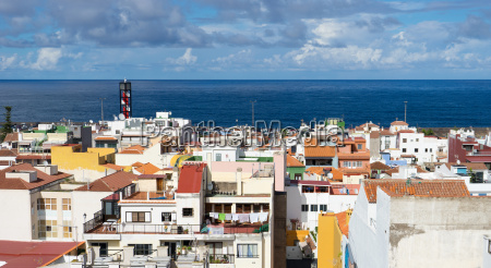view over the roofs of puerto