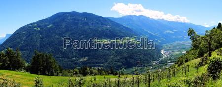 mountain landscape near merano