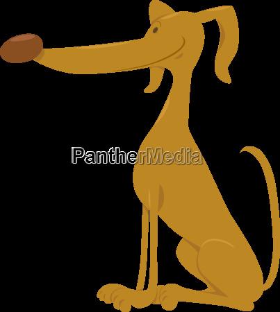 cute dog cartoon animal