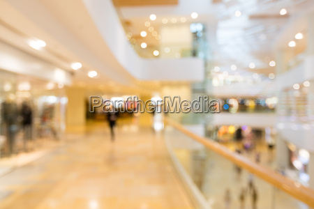 blur store with bokeh background business