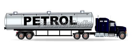 benzin tanker truck