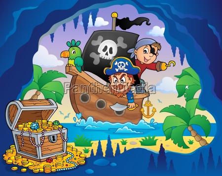 piratenboot thema 4