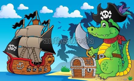 piraten krokodil thema 4