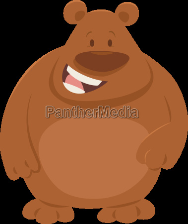 cartoon bear animal character