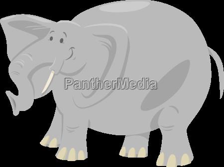 elephant cartoon safari animal