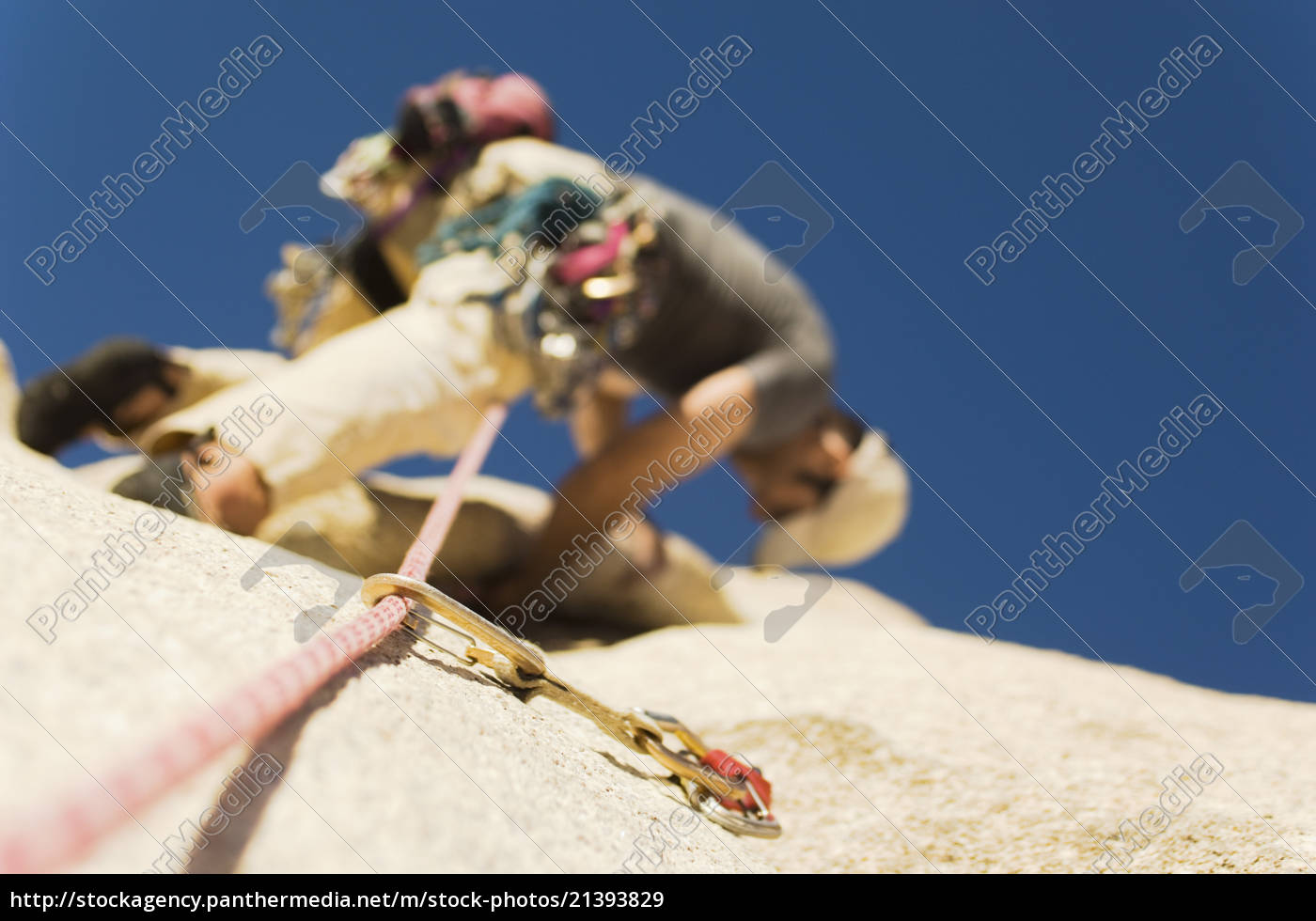 mann, klettern, auf, klippe - 21393829