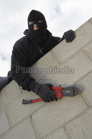 masked thief kletterwand