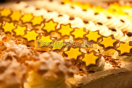 cookies in der anzeige einer baeckerei