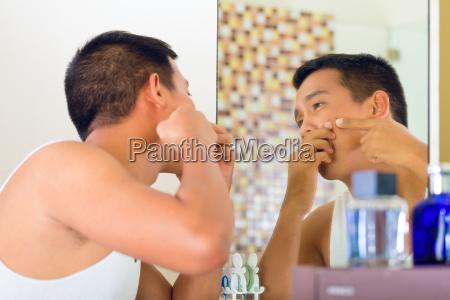 azja twarz buzia indonezja skorka osoba
