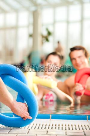 fitness sports gymnastics under water