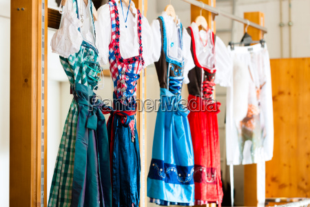 traditional clothes tracht or dirndl