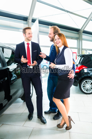 dealer clients and auto in car