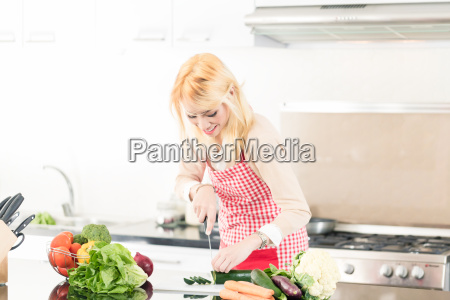 asian woman cooking food