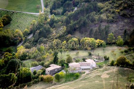 mountain village alps france