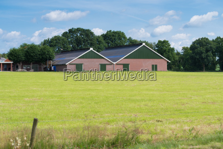 modern farm building