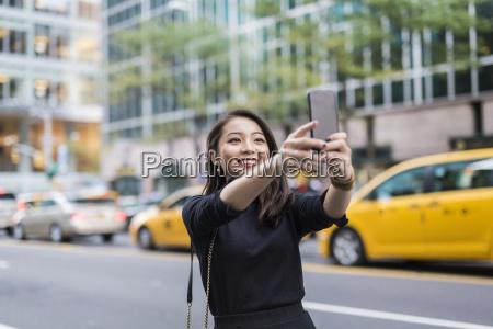 usa new york city manhattan portrait