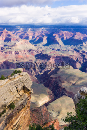 grand canyon vertical view