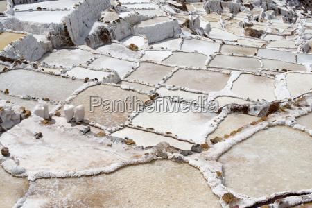 salt flats at salinas in the