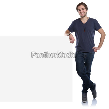 young man advertising marketing young laughing