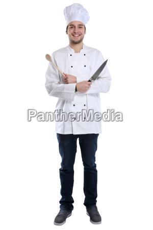koch, jung, azubi, ausbildung, auszubildender, kochen - 21534005