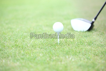 close up of golf club and