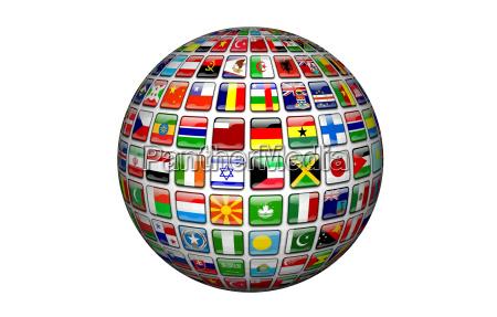 vereinte nationen globus freigestellt