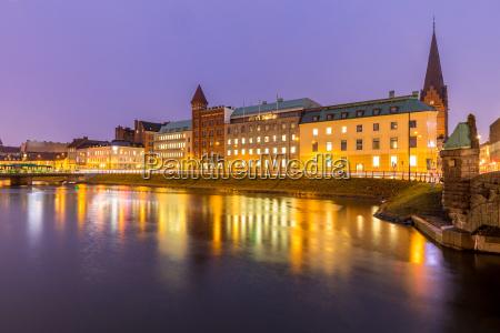 malmoe stadtbild schweden